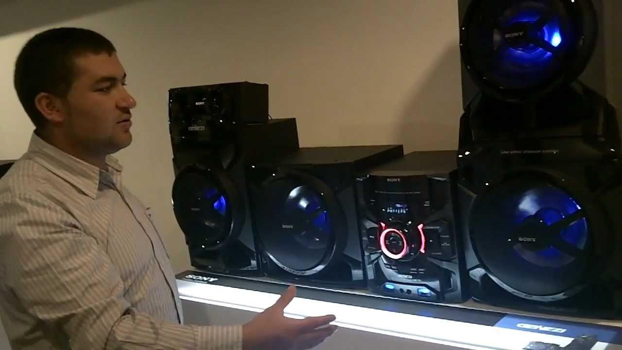 Sony lanza equipo de audio m s poderoso del mundo para am rica latina youtube - Equipo musica casa ...