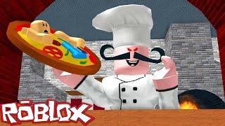 ESCAPE THE EVIL PIZZERIA IN ROBLOX! (Roblox Evil Pizzeria Obby)