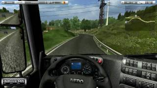 Austrian Truck Simulator Gameplay (PC HD)