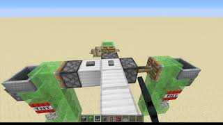 TNT duper and launcher in minecraft