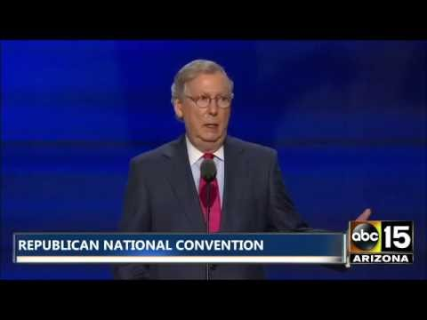 FULL SPEECH: Senate Majority Leader Mitch McConnell - Republican National Convention