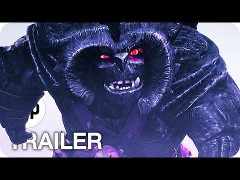TROLLJÄGER Staffel 1 Trailer German Deutsch (2016) Guillermo del Toro Netflix Serie