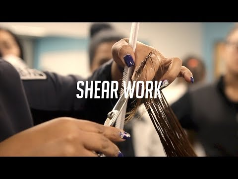 Cutting Mannequins For The First Time in Cosmetology School | The Barber's Journey