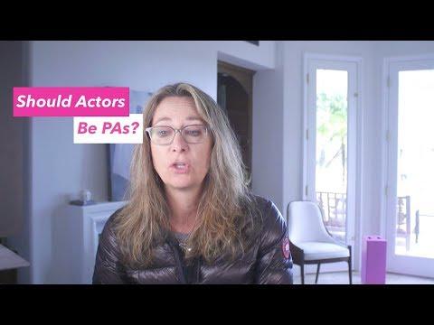 Should actors PA?