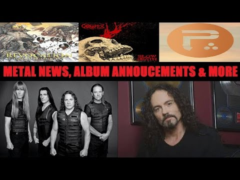 METAL NEWS: 3 Album Annoucements, R.I.P. Nick Menza, and MANOWAR Farewell