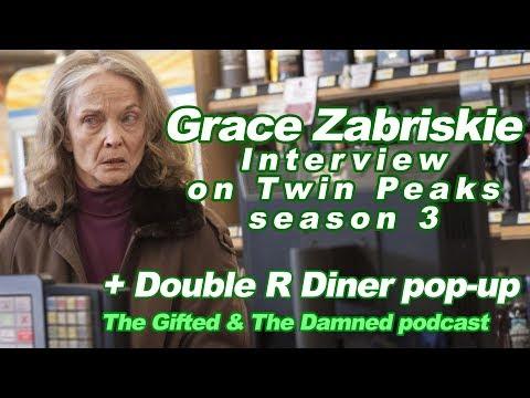 Grace Zabriskie interview on Twin Peaks season 3 PLUS Double R Diner pop-up