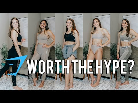 Huge Gymshark Try on Haul and Review