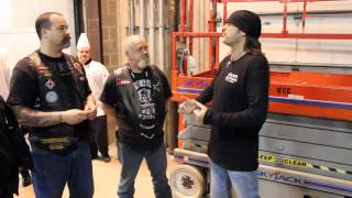 World of Wheels Counting Cars w Tri Service Military Veterans