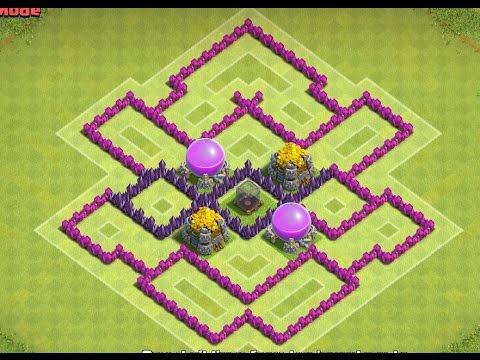 Best Town Hall 7 Farming Base (Phoenix) ! Clash of Clans {Anti-Everything} !