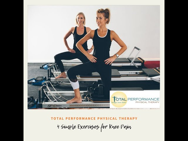 4 Simple Exercises for Knee Pain