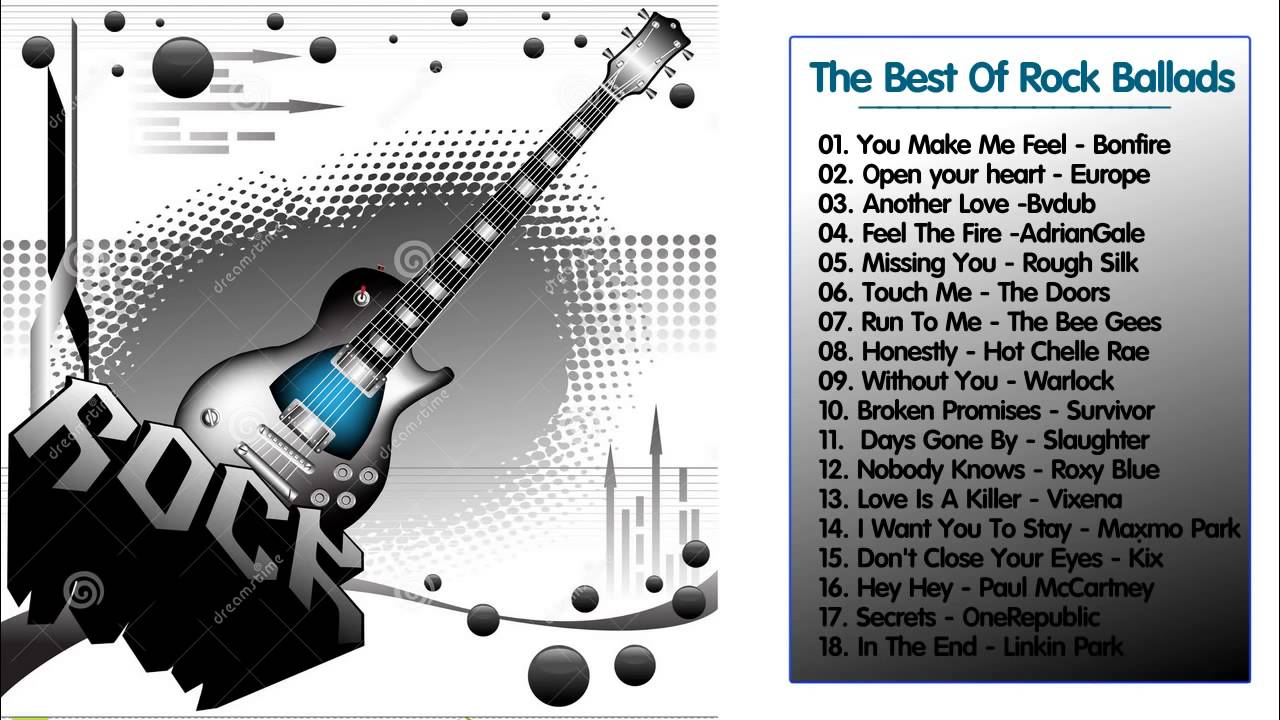 Love Songs 80s 90s The Best Rock Ballads Collection Greatest Hits