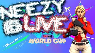 Fortnite WORLD CUP QUALIFIERS! | *PRO* Controller On PC | vBucks Giveaway! | 385+ Wins | 14k+ Kills