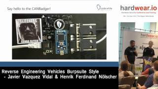 Hardwear.io 2016 :- Reverse Engineering vehicles Burpsuite Style by Javier & Ferdinand