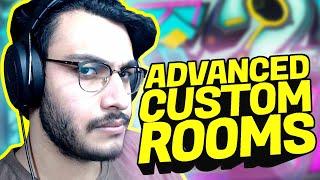 LOCKDOWN ME ADVANCED CUSTOM ROOMS WALI BHASAD | PUBG MOBILE SEASON 12 | RAWKNEE