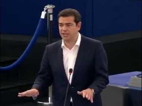 Discorso di Tsipras in Plenaria