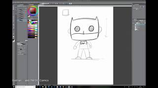 Clip Studio Mini Lesson 002 - Funko Pop