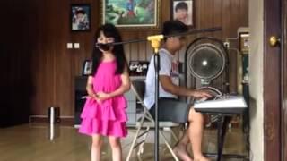 Wooow !!! Keren Anak Kecil Ini Nyanyi Lagu Rohani - Pertolonganmu (Citra Scholastika) Cover