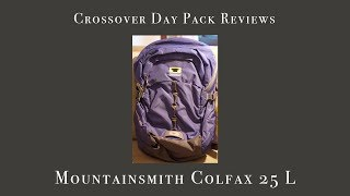 Review of Mountainsmith Colfax 25 L Thumbnail
