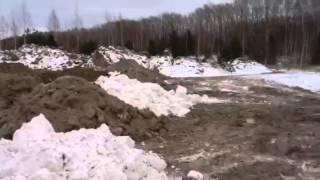 Свалка снега 2