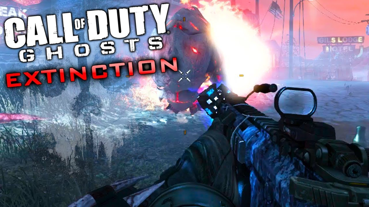 Call Of Duty Ghosts Extinction Getting All Challenges Completed