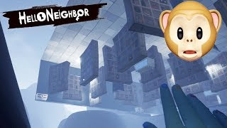 I GLITCHED UNDER THE MAP!! | Hello Neighbor Hide And Seek [Stage 4]
