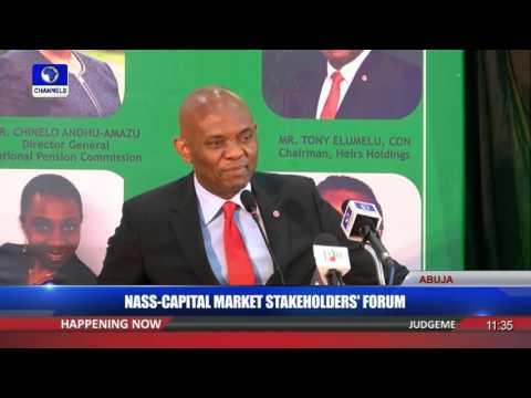 NASS Capital Market Stakholders' Forum Tony Elumelu 1