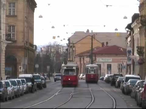 Transports in Hungary - Trams & buses in Miskolc