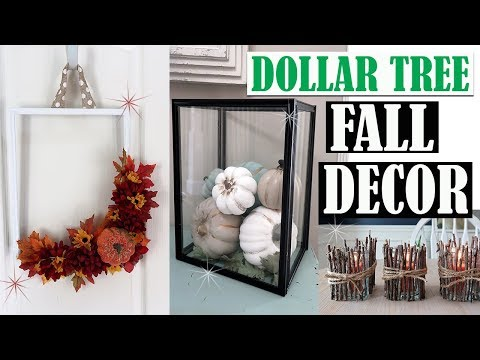 DOLLAR TREE FALL DIY DECOR 2018