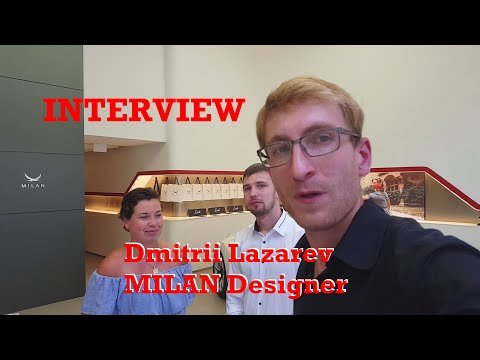 INTERVIEW: Dmitrii Lazarev, Designer of MILAN Automotive [1080p]