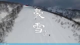 夏油高原スキー場 ツリーラン