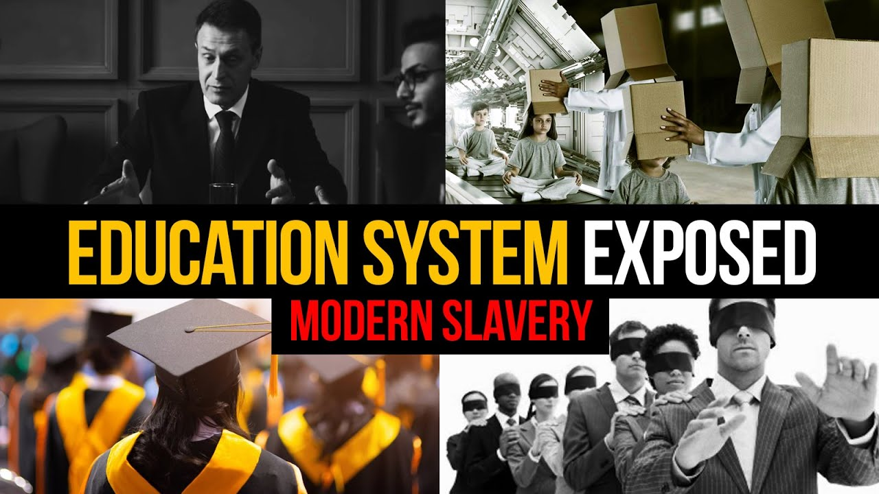 THE ARMY OF SATAN - PART 19 - Education System Exposed - Modern Slavery