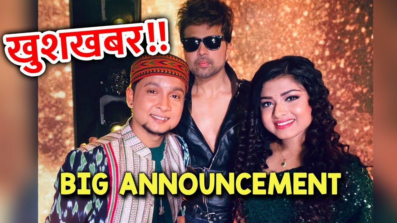 Wow!! Himesh Reshammiya Ne Kiya Pawandeep Aur Arunita Ko Album Me Launch | Indian Idol 12