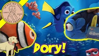Disney Pixar Finding Dory & Nemo Bathtub Swimmers & Plush Toys