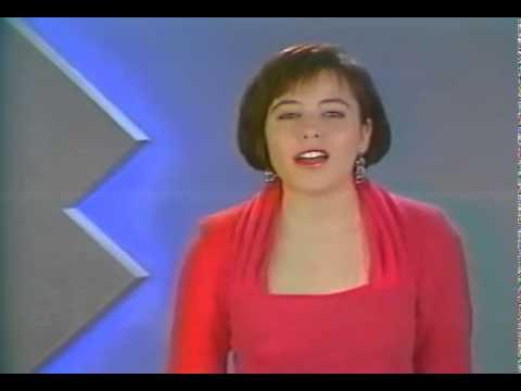 Speakerine : Isabelle WOLFE sur France 3 (1989 )