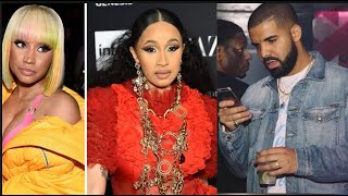Drake Reacts To Nicki Minaj Wanting A Play Date, Cardi B & Nicki Ended Beef Reportedly Ended Beef