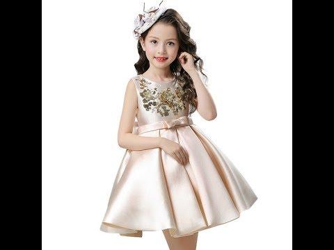 cf8df808528f7 فساتين اطفال تجنن ♥️2019♥ ملابس اطفال بناتي انيقة - YouTube