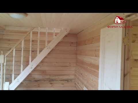 СК Формула Дома - Баня из бруса 6х8 Куликово