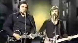 Johhny Cash and Kris Kristofferson