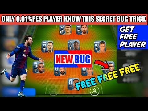 99% Pes Players don't Know this secret Bug trick to get Free black ball PES 2019 MOBILE