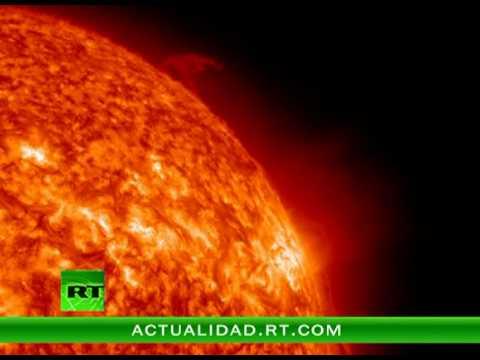 Impresionante Video Un Cometa Gigante Se Estrella Contra El Sol