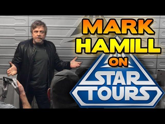 Mark Hamill on Star Tours