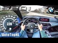 BMW 5 Series G30 520i AUTOBAHN POV TOP SPEED by AutoTopNL