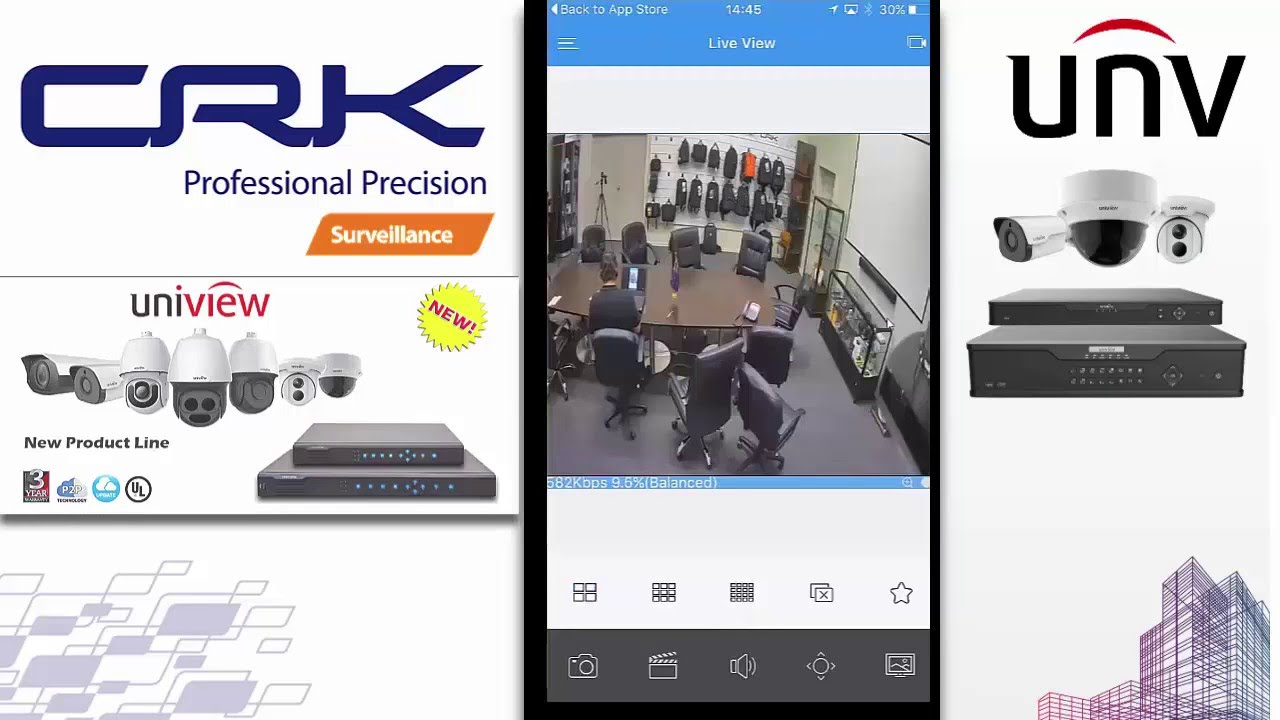 Uniview Full HD 8CH Dome IP Security Cameras Kit - CCTVGUY