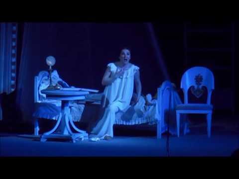 """P.I.Tchaikovskiy """" Evgeniy Onegin"""" Olga Mykytenko - Letter scene"""