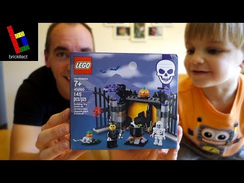 OUR FIRST HALLOWEEN LEGO BUILD!