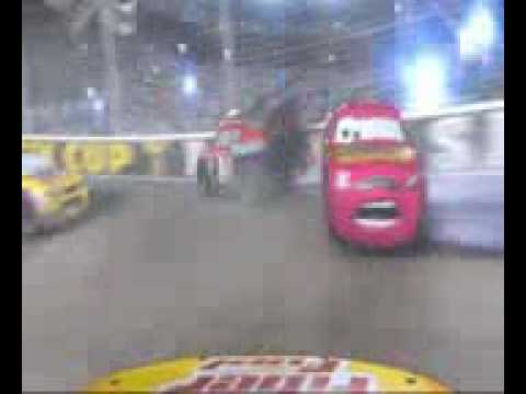 Cars Dinoco  Crash