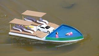 Hoe maak je een Boot - DIY Zwembad Boot