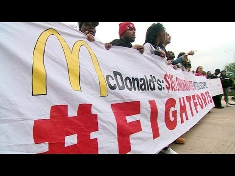 McDonald's faces worker pressure as shareholders meet
