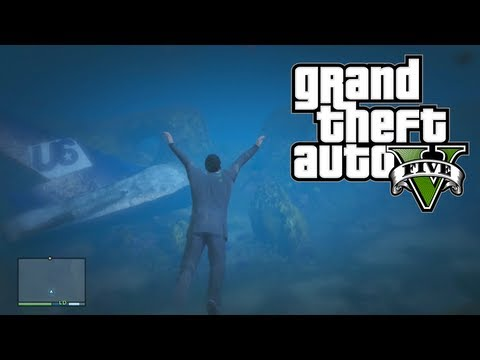 GTA 5: Secret Underwater Treasure & Ammo! Free & Easy Money!