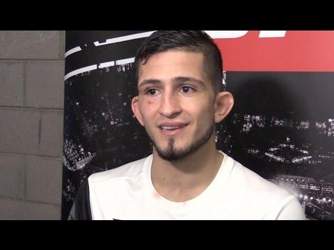 Sergio Pettis: 'I Think I Break the Ranks of the Top 10' (UFC Phoenix)